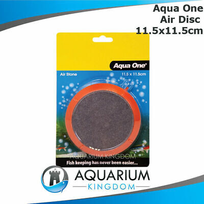 #14045 Aqua One PVC Encased Air Disc 11.5cm Large Aquarium Air Stone Bubbles