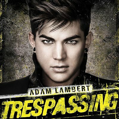 Adam Lambert - Trespassing CD Deluxe +3bonus track(album new/disco sigillato)