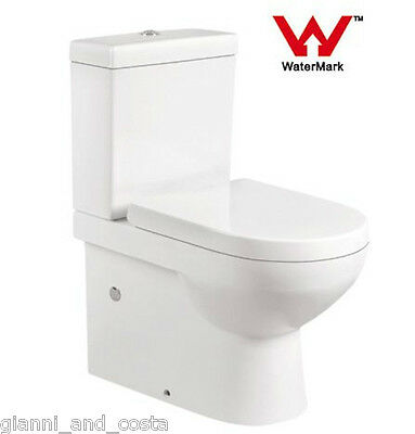 Toilet Suite Ceramic Back To Wall  Soft Close Pp Seat - P Or S Trap Gc69