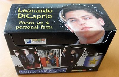 """Pack Of 12 Leonardo Dicaprio X 18 Photo Sets & Personal Facts - 6"""" X 4"""" Photos"""