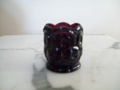 Amethyst Moon and Star Toothpick holder L. G. Wright