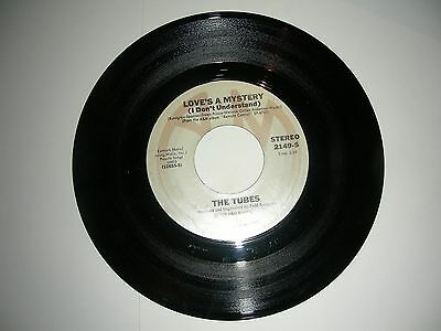 New Wave 45 Tubes - Love's A Mystery / Telecide    A&M   NM 1979