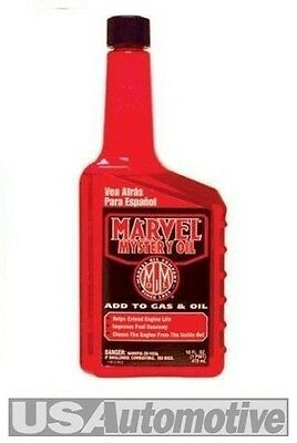 Marvel Mystery Oil and Fuel Additive Engine Hydraulic Lifter and Valve Treatment