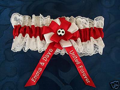 *personalised* Football Wedding/bridal Garter-Your Team