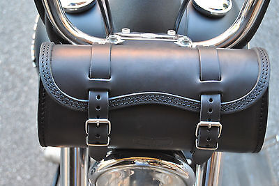 Tool Bag For Harley Davidson Dyna Made Of The Best Italian Leather