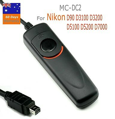 Wired Remote Shutter Release MC-DC2 for Nikon D90 D3100  D5000 D5100 D7000