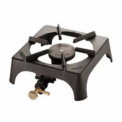 Foker single cast iron camping scout catering fishing gas burner
