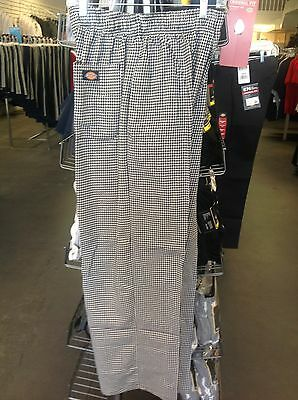 Dickies Chef Pants Dc224 Traditional Zipper Baggy Houndstooth  Hdth