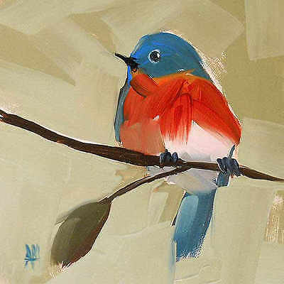 Coming In for a Landing Angela Moulton Animal Bird Canvas 16x16