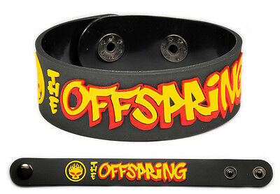 THE OFFSPRING Rubber  Bracelet Wristband << Pretty Fly >>