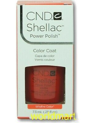 CND Shellac GelColor UV/LED: #40508_Wildfire 0.25fl.Oz