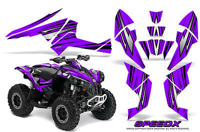 Can-Am Renegade Graphics Kit by CreatorX Decals Stickers SpeedX BPR