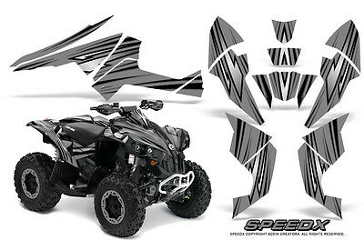 Can-Am Renegade Graphics Kit by CreatorX Decals Stickers SpeedX BS