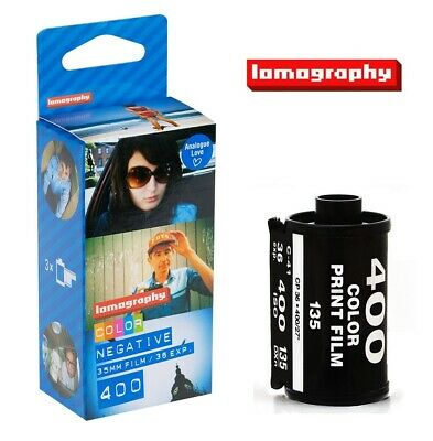 Lomography LOMO 135 Color Negative Film ISO 400 for Diana mini Fisheye x 3 Rolls