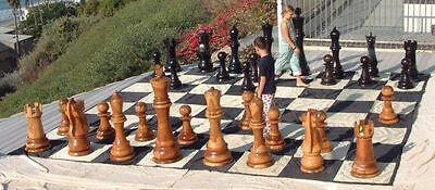 """MegaChess Nylon Chess/Checkers Board with 24"""" Squares - Outdoor Chessboard"""