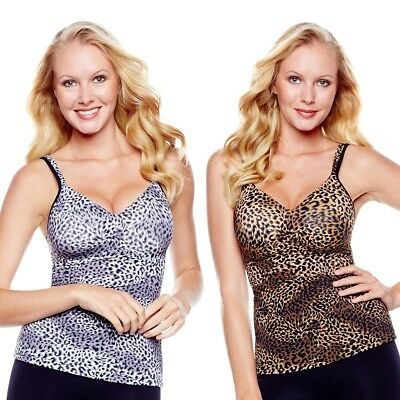 $39.90 Rhonda Shear Printed Molded Cup Camisole 267778-406902 CLEARANCE $11