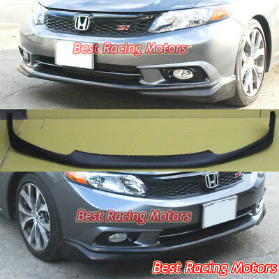 Modulo Style Front Bumper Lip (Urethane) Fits 2012 Honda Civic 4dr