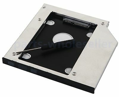 2nd HDD SSD HD Caddy for Dell Insipiron 15 3541 3542 3543 3545 3552 5570 17 5759