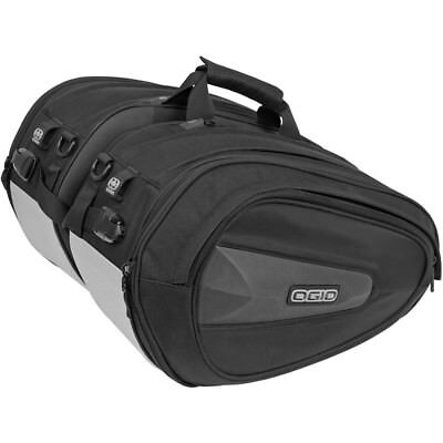 Ogio NEW Saddle Duffle Packs Motorcycle Road Bike Stealth Adventure Pannier Bags