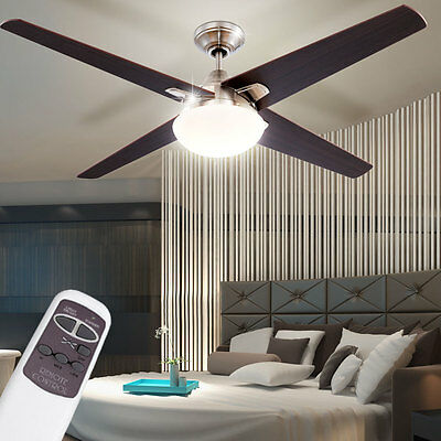 Ceiling fan with lighting and remote control fan living room light lighting lamp