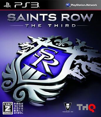 UsedGame PS3 Saints Row The Third [Japan Import] FreeShipping