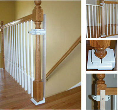 Safety Innovations Hole-Free Post Baby Safety Gate Mounting Kit - 33553