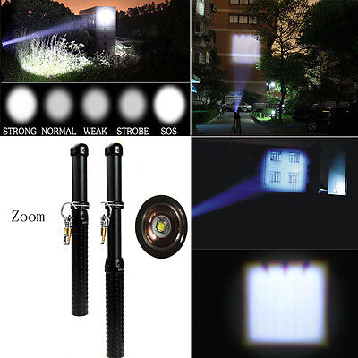 2000lm Ultrafire CREE XM-L T6 LED Flashlight Torch Zoomable Tactical Flashlight