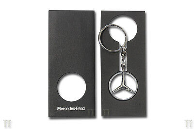 Brand New Mercedes Benz Star Brussels Design Key Ring 2014 Collection