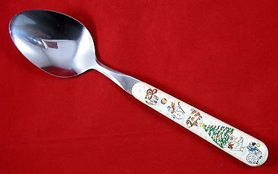 International Country Christmas Serving Spoon