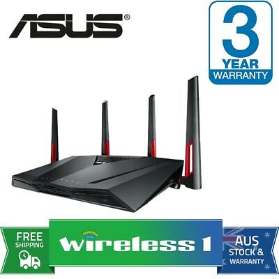 Brand New Asus RT-AC88U Dual-band wireless-AC3100 gigabit router