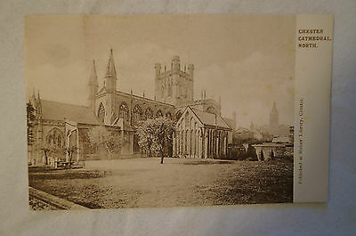 Chester - Cathedral North - England - Vintage - Postcard.