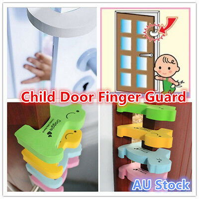 2 x Child Baby Toddler Safety Finger Door Guard Protector Pinch Stopper Jammer