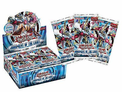1 x Booster Pack Yugioh 9-Card Judgment of the Light Genuine Sealed English JOTL