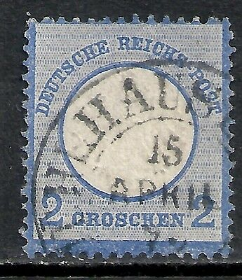 Reich stamps 1872 Mühlhausen on MI 5 signed SommerBPP  CANC  VF