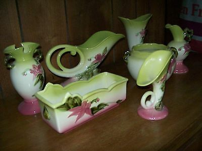 Hull Pottery Collection (7 Pieces) - Woodland