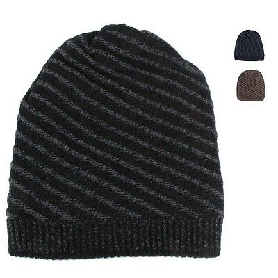 Mens Womens Baggy Knit Beanie Winter Hat Ski Cap Skull Slouchy Chic UPick XT