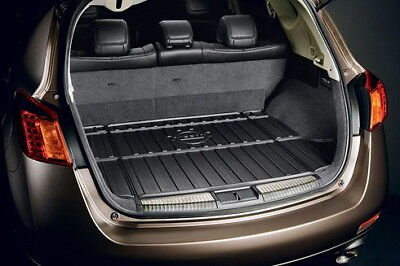 New Oem 2009-2014 Nissan Murano Black Cargo Area Protector W Flip