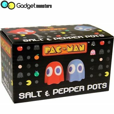 Pac-Man Ghost Salt & Pepper Pots Classic Arcade Novelty Gifts