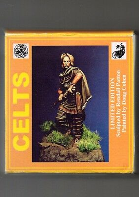 MMA MINIATURES TMP-10 - VERCINGETORIX CELTIC CHIEFTAIN 54/52 B.C. 54mm METAL