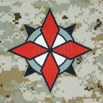 Small Resident Evil Umbrella Corporation U.S.S Logo Iron on Sewing on Patch