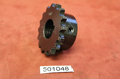 "RWI H4016- 1"" Bore #40 Steel 16 Teeth FB Chain Sprocket New"