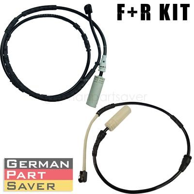 NEW Brake pad wear sensor front + rear 34356792565+34356792562 For BMW X1 E84