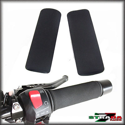 Strada 7 Motorcycle Foam Grip Covers Universal Fits ALL Hand Grips