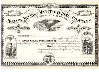 Juniata Mining and Manufacturing Company