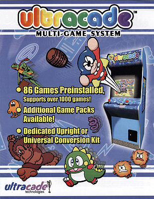 2004 Ultracade Multi-Game System Video Flyer