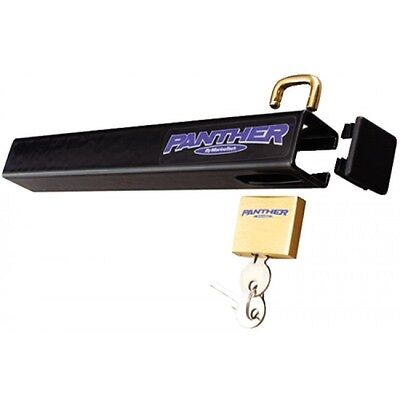 Panther Marine Boat Out/Board Motor Lock Anti-theft, Cut Resistant Carbon Steel