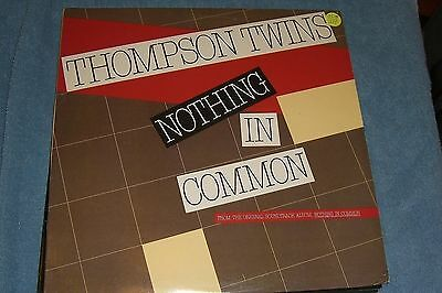"""THOMPSON TWINS Nothing In Common / Revolution12"""" single"""