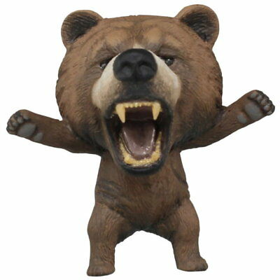 Takara Tomy 野生の証 Proof of Wild Angry Animals Collection 1st Bear Figure