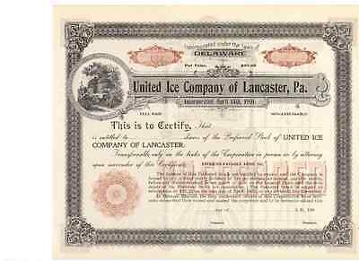 United Ice Company  of Lancaster