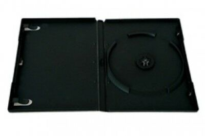 200 STANDARD Black Single DVD Cases 14MM (Machinable Quality)